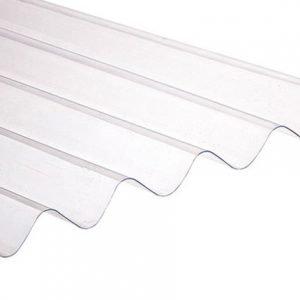 placa ondulada de policarbonato