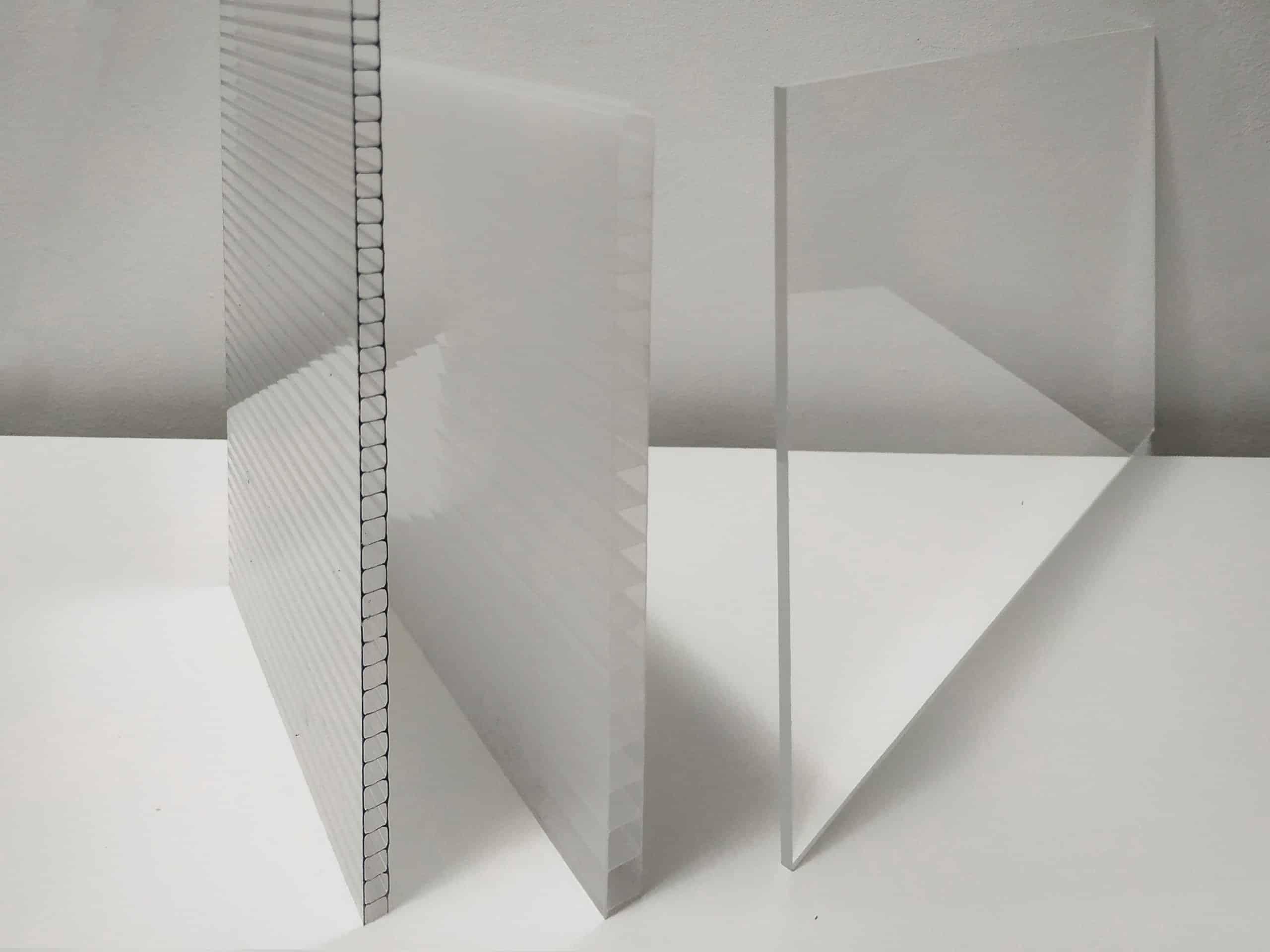 tipos placas de policarbonato