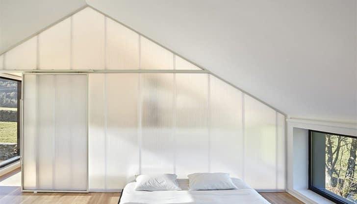 pared policarbonato